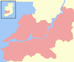 Kingdom of Thomond at its full extent.